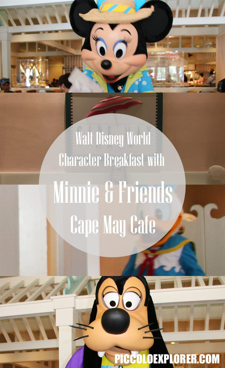 Breakfast with Minnie & Friends at Cape May Cafe