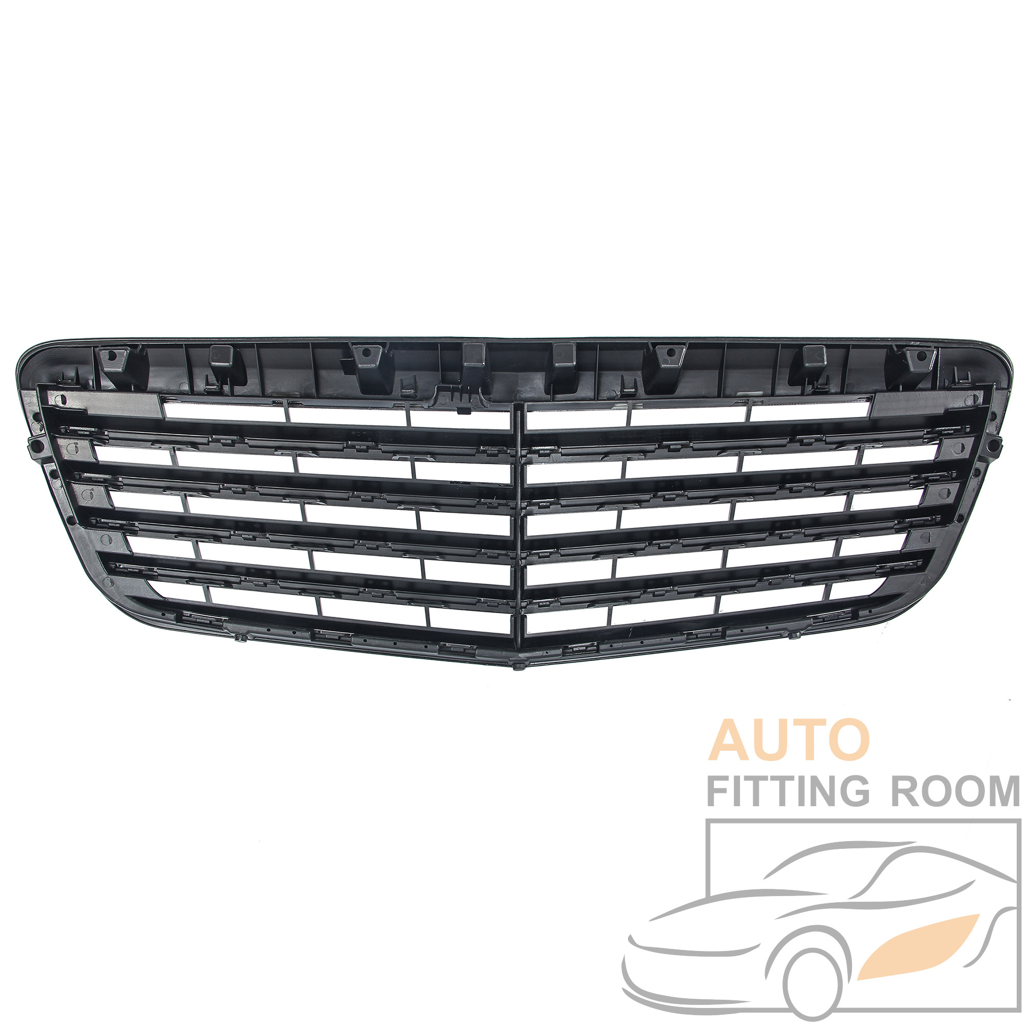 Gloss Black E63 AMG Style Front Grille Grill For Mercedes