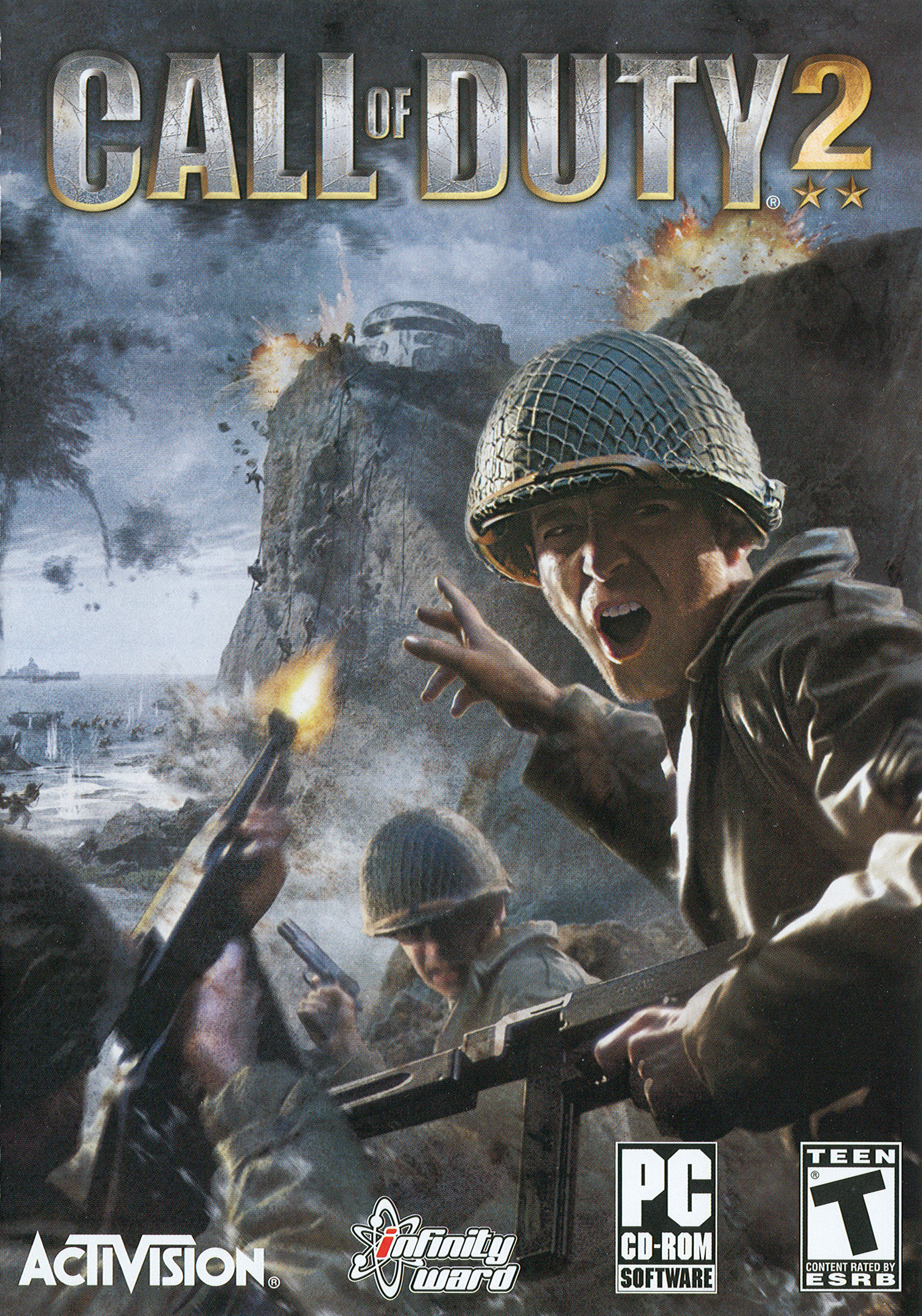 Call of Duty 2 Video Game Box Art - ID: 16869 - Image Abyss