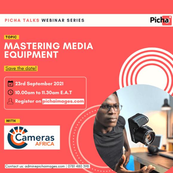 webinar mastering media equipment
