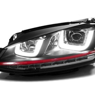 faruri tuning daylight drl led gti vw golf 7 gti