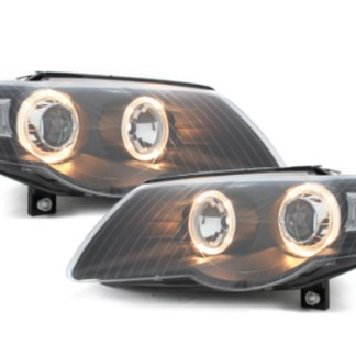 faruri angel eyes drl led daylight vw passat b6 3c