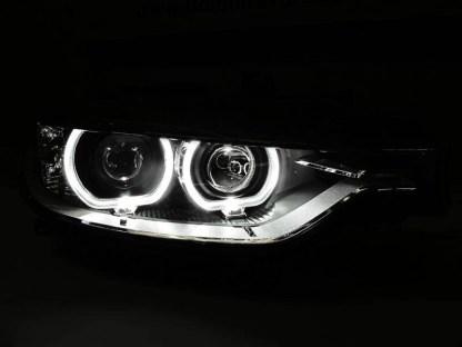 Faruri BMW F30 F31 Angel Eyes LED DEPO