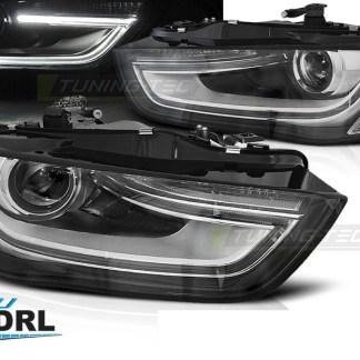 Faruri LED Xenon Audi a4 B8 B8.5 facelift 2012-2016