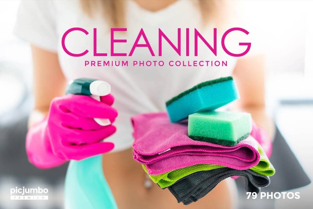 Cleaning — get it now in picjumbo PREMIUM!