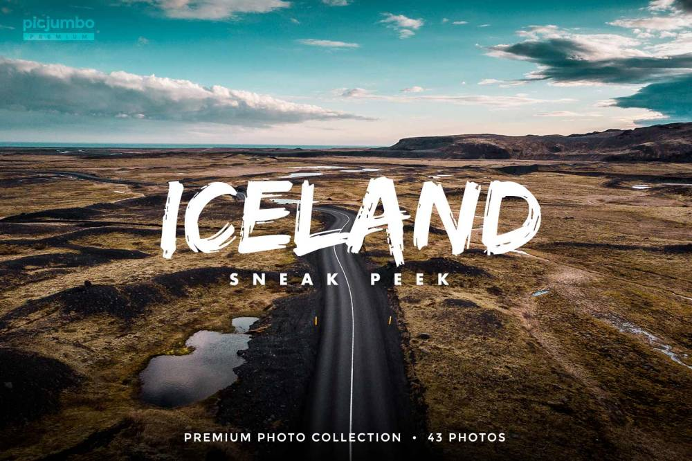 Iceland Sneak Peek — get it now in picjumbo PREMIUM!
