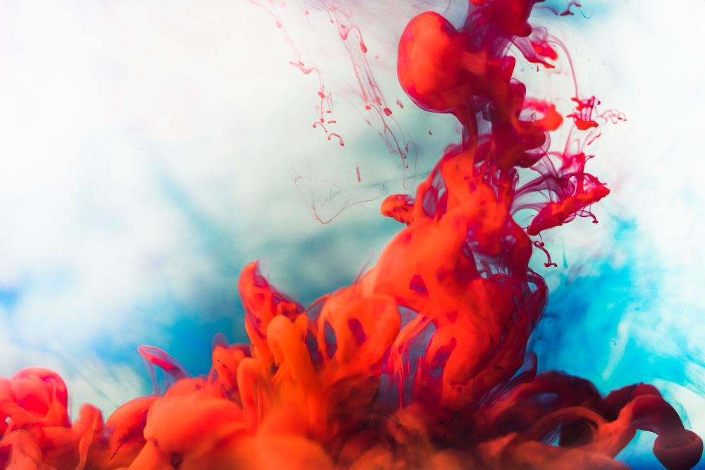 Ink in Water Abstract Free Image Download