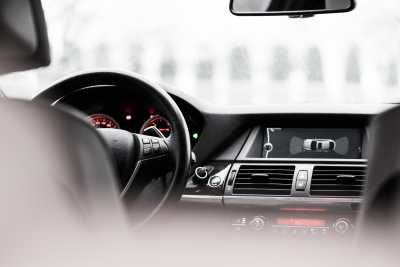Download Modern Car Interior Dashboard Free Stock Photo