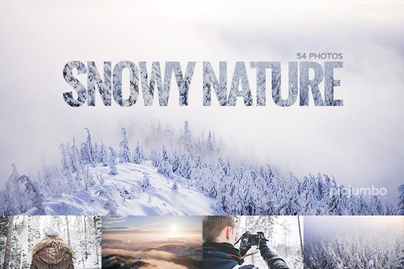 picjumbo premium snowy nature