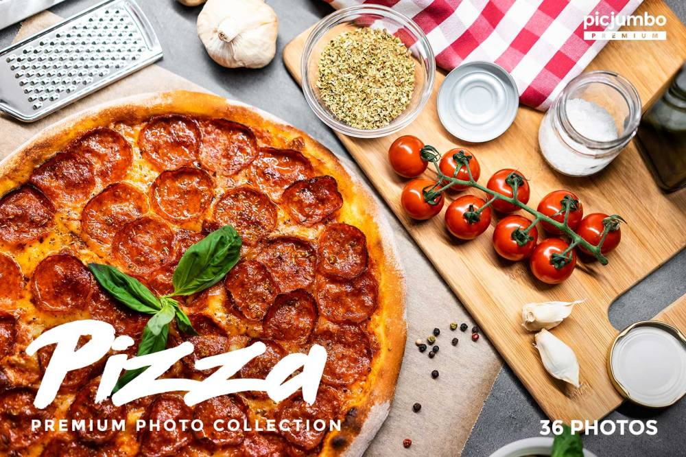 Pizza — get it now in picjumbo PREMIUM!