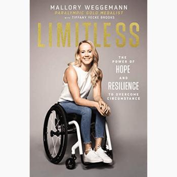 Mallory Weggemann's Book Limitless Picture