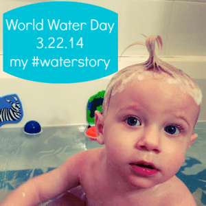 There's Trouble in the Tub: My #waterstory for World Water Day