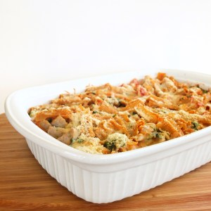 Baked Pasta with Chicken Sausage