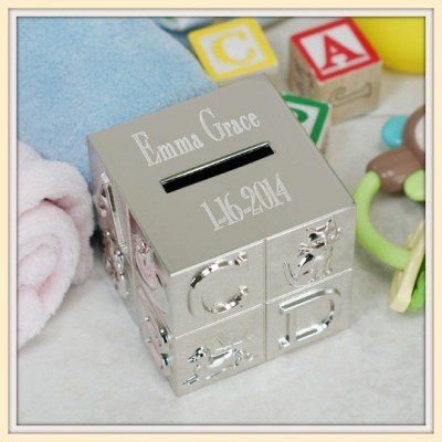 Personalized ABC Block Bank