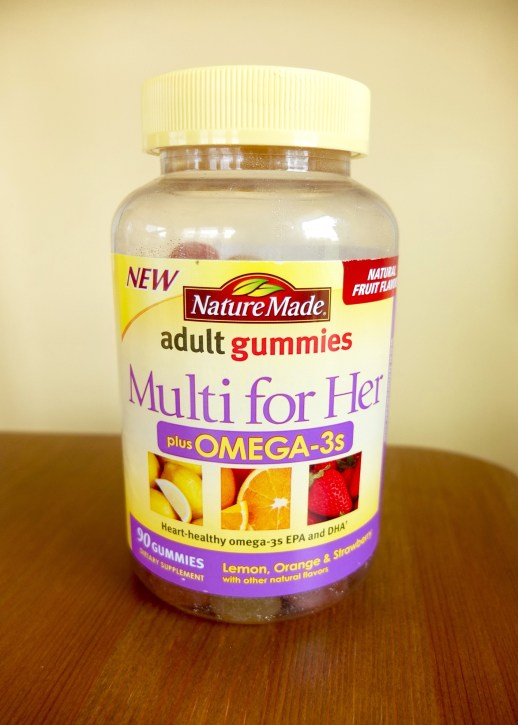 Nature Made Multi for Her with Omega-3s Adult Gummies