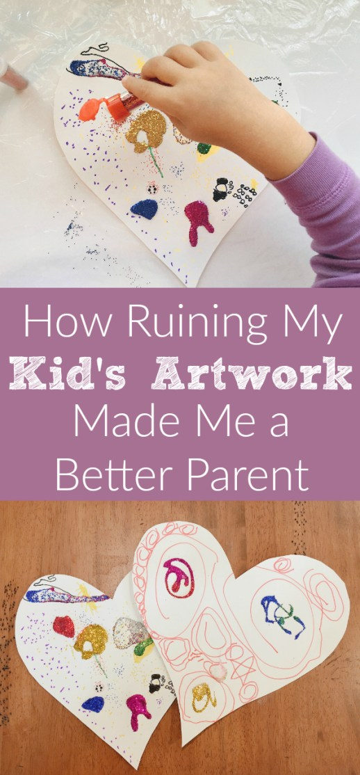 How Ruining My Kid's Artwork Made Me a Better Parent