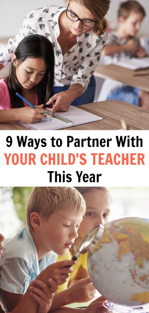 9 Ways to Partner With Your Child's Teacher This Year