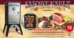 Camp Chef Smoker 18″ Smoke Vault