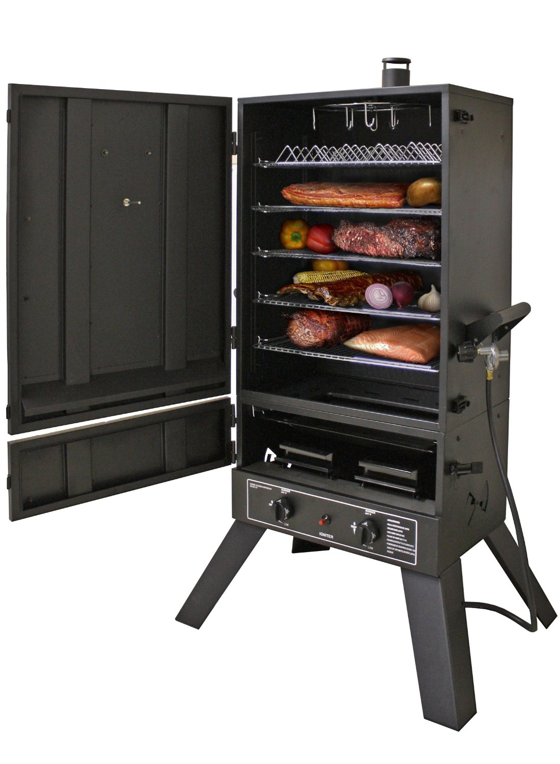 Smoke Hollow 44241G2 44-Inch Vertical LP Gas Smoker Review