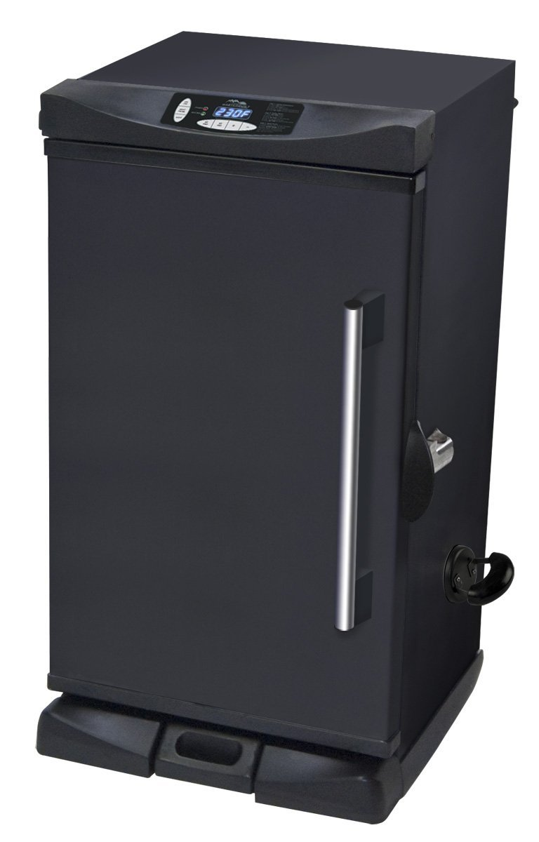 Masterbuilt 20070213 30-Inch Black Electric Digital Smoker, Front Controller review