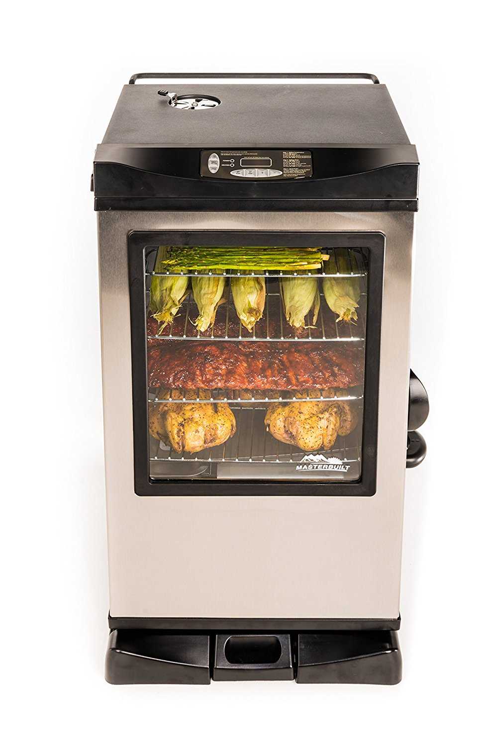 Masterbuilt 20077515 Front Controller Electric Smoker with Window and RF Controller, 30-Inch Review