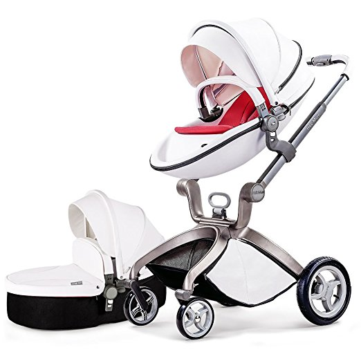 Hot Mom 3 in 1 Travel System and Bassinet Baby Stroller Review