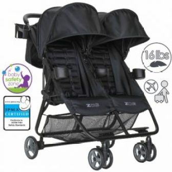 Zoe XL2 Double Lightweight Twin Travel Umbrella Stroller System