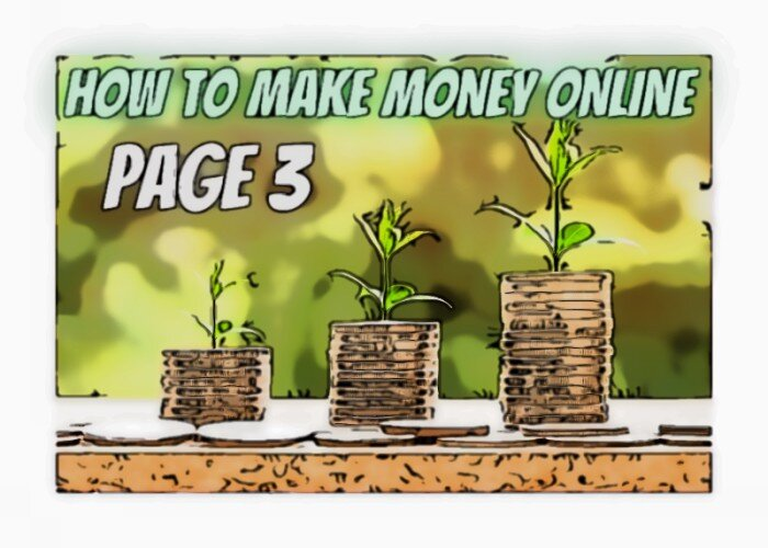 how make money online page 3
