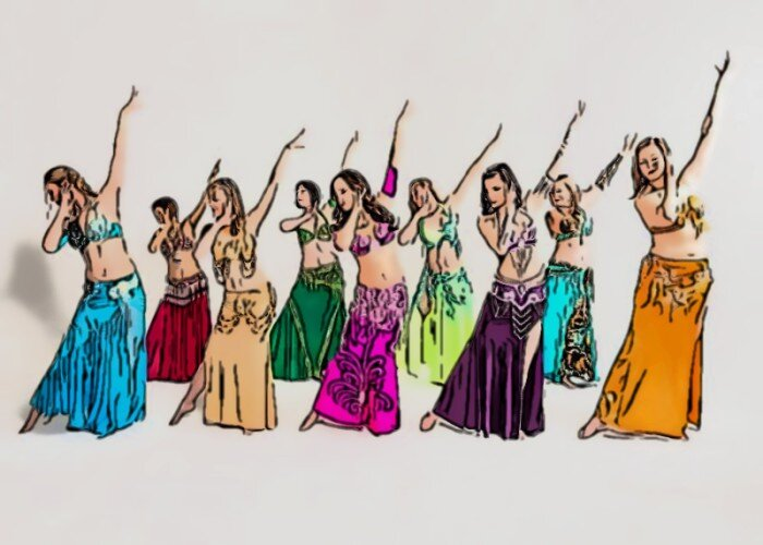 How To Teach Yourself Belly Dancing