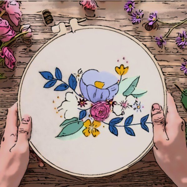 Embroidery Kits for Beginner