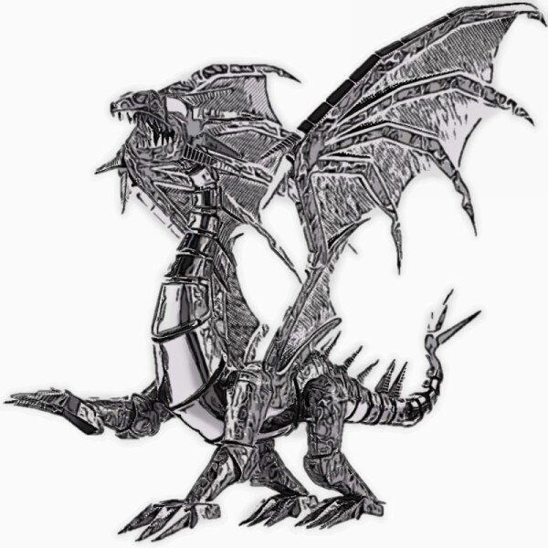 Dragon Metal Building Kit