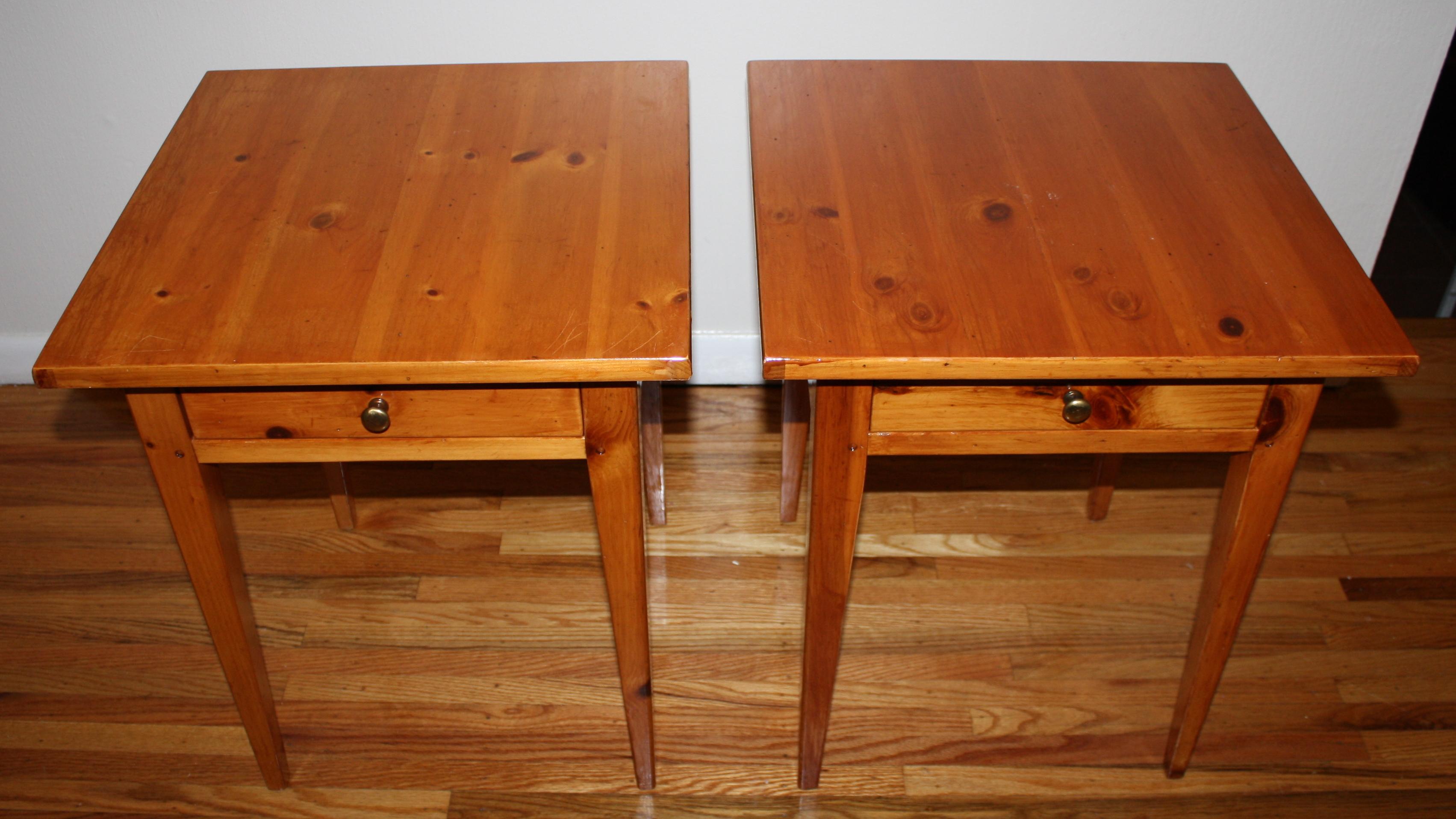 Vintage Lane Side End Tables  Picked Vintage