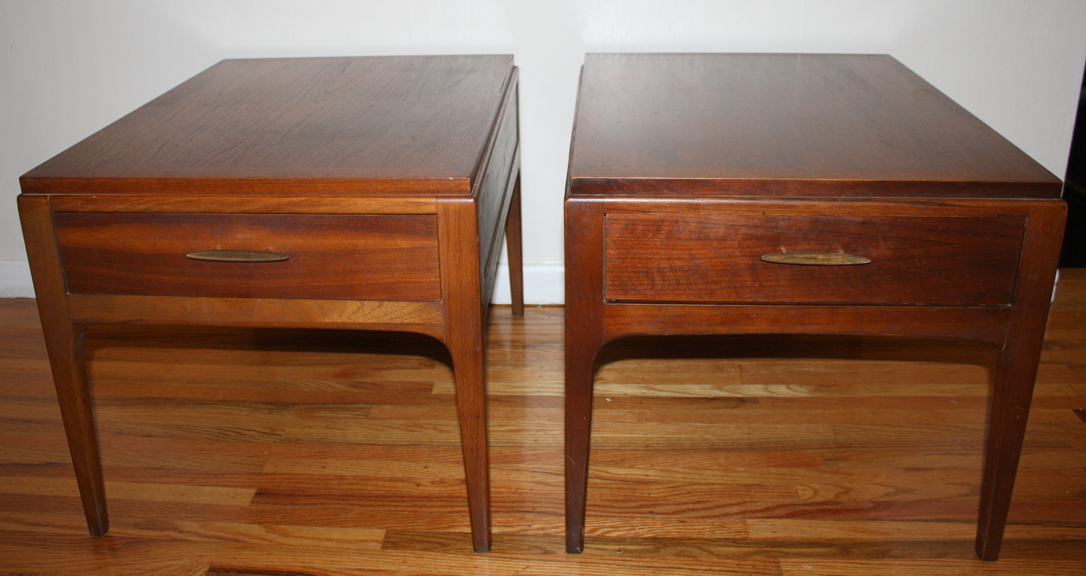 Mid Century Modern Lane Side End Tables  Picked Vintage