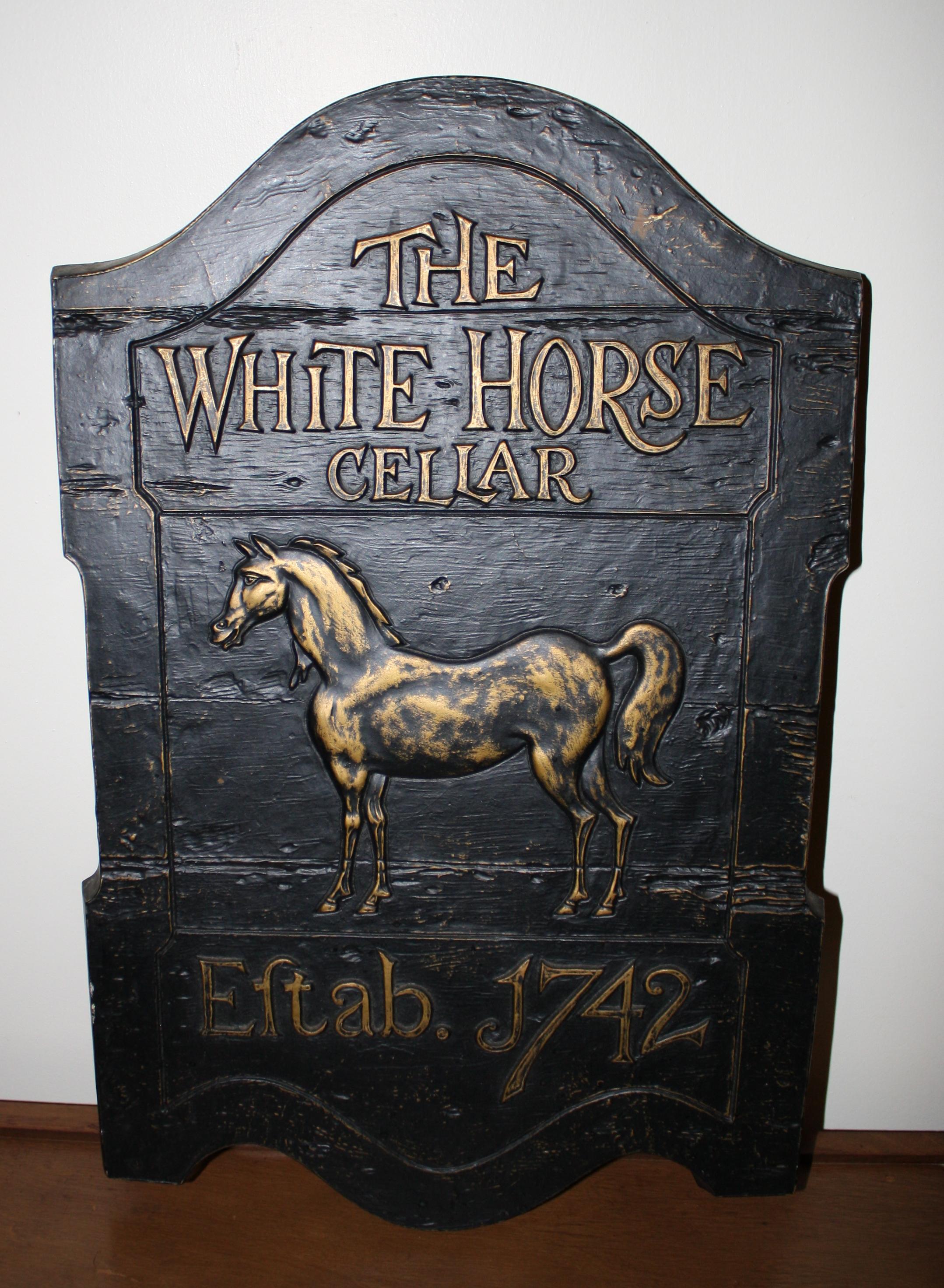 Vintage Scotch Whisky Advertising Sign  Slainte  Picked