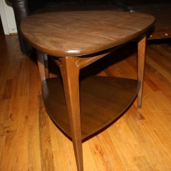 Formica Table And Chairs Little Tikes Desk With Light Chair Mid Century Modern Coffee Triangle Side By Mersman   Picked Vintage