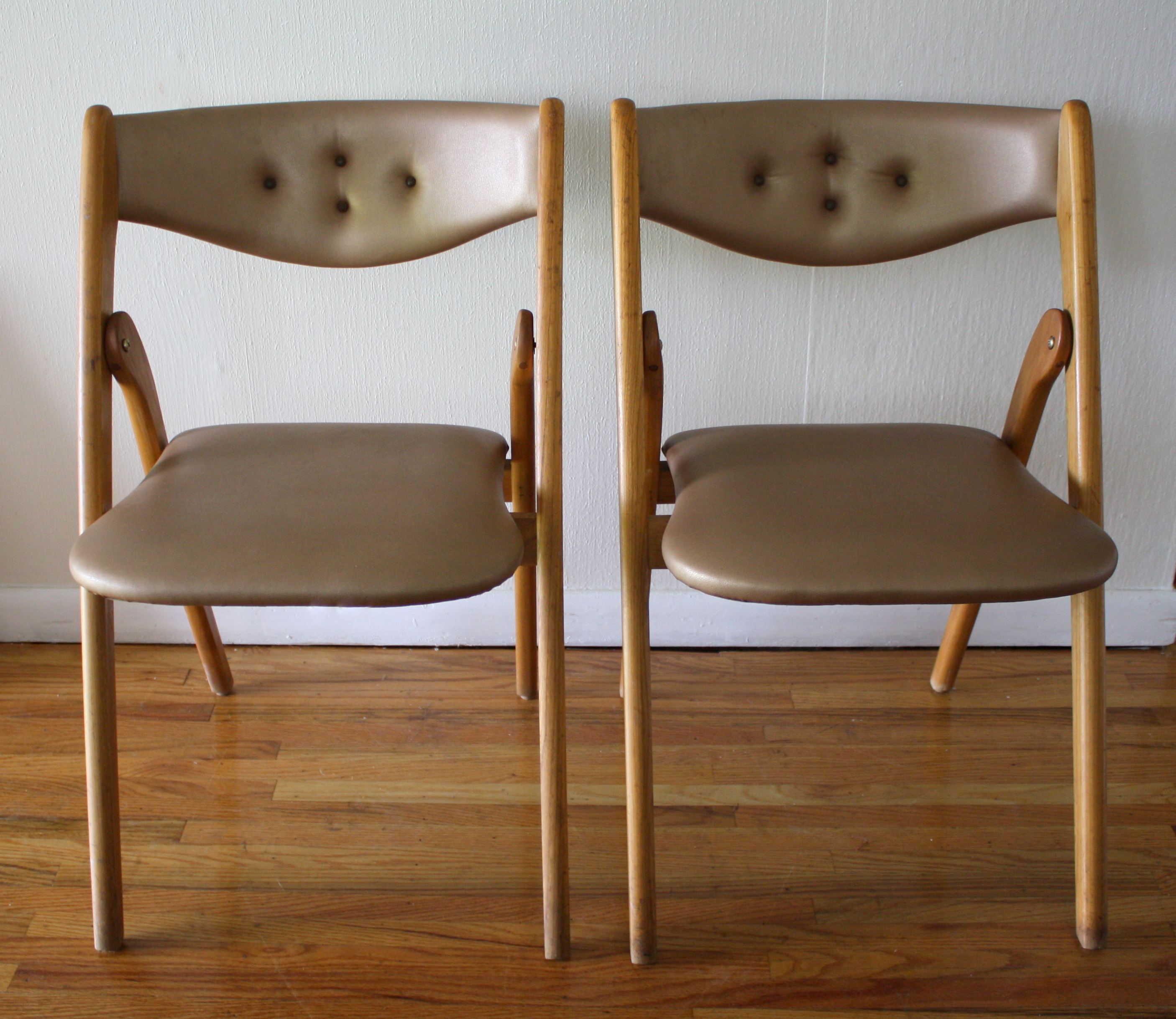 Modern Folding Chairs Mid Century Modern Coronet Folding Chairs Picked Vintage