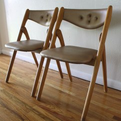 Modern Folding Chair Club Mid Century Coronet Chairs Picked Vintage