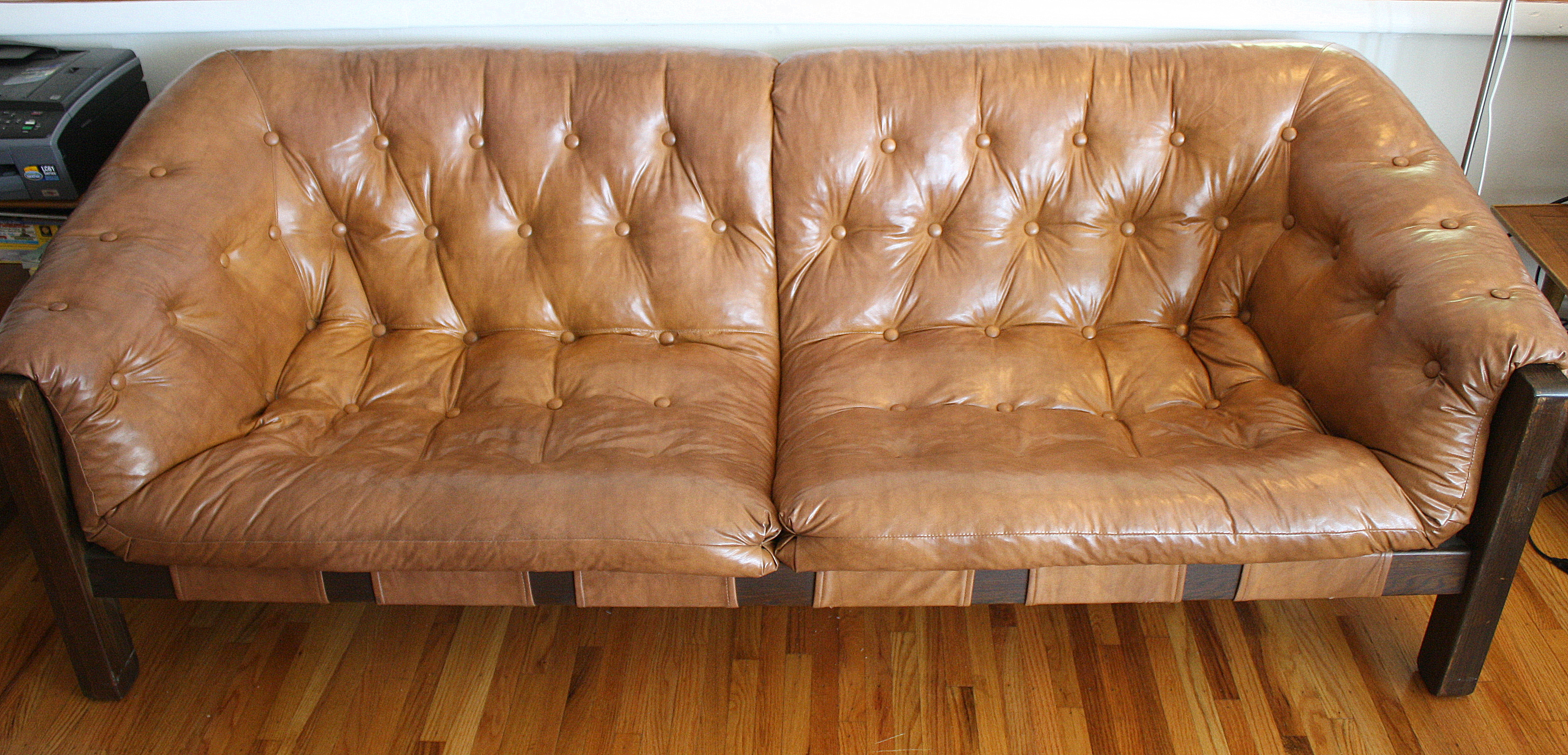 Percival Lafer Style Suspension Sofa  Picked Vintage