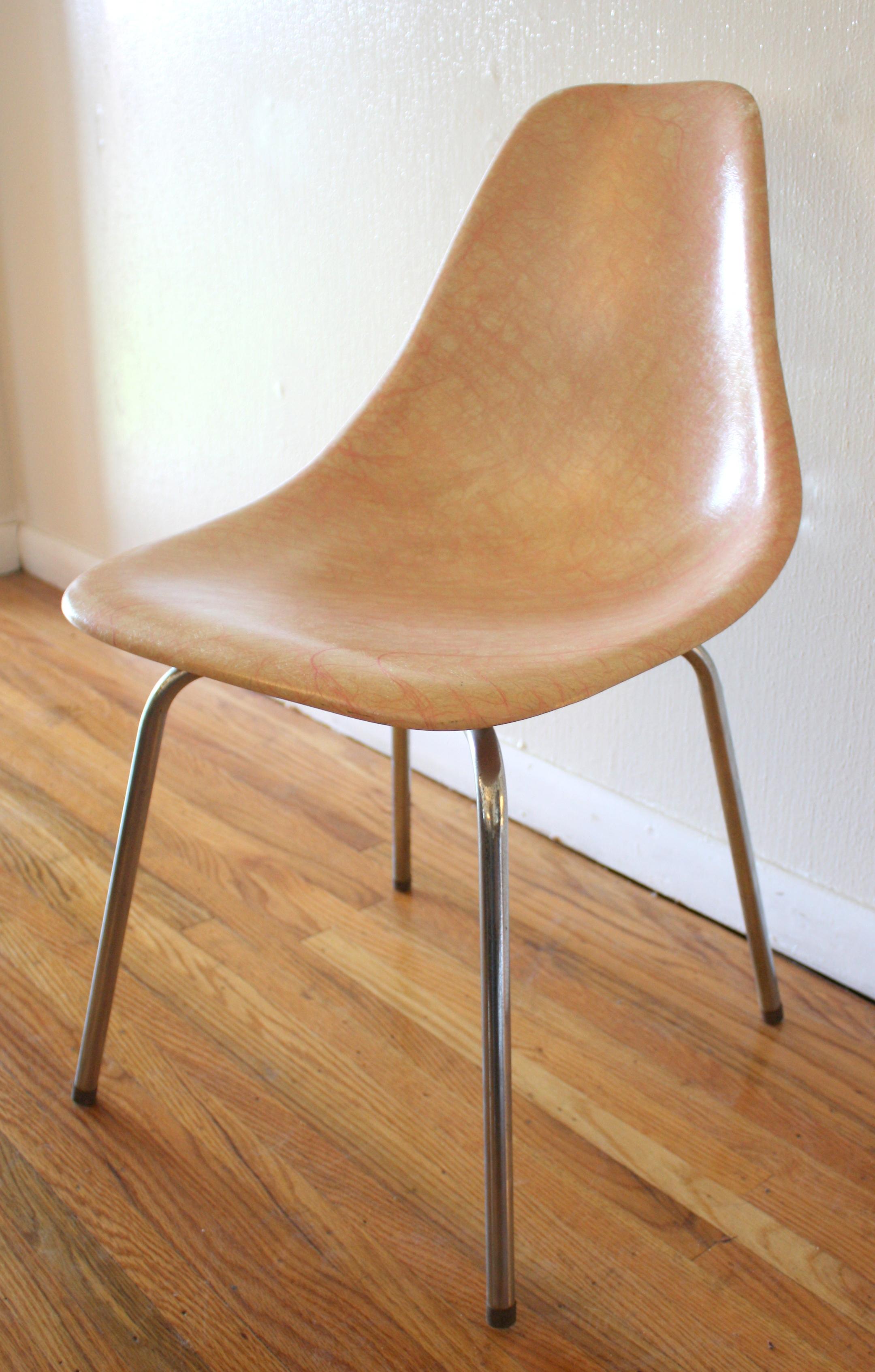 chair fiberglass  Picked Vintage