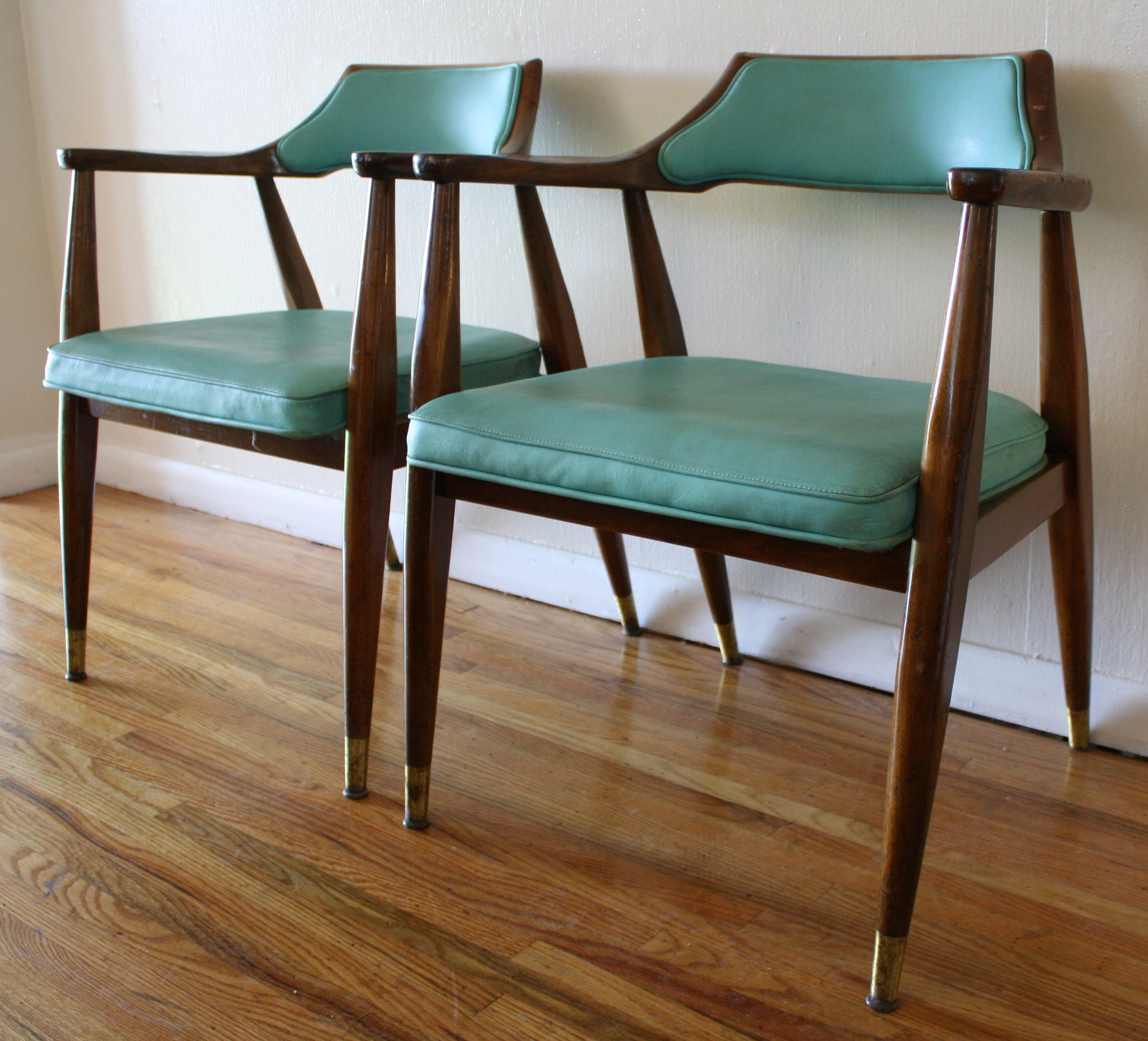 mid century egg chair posture ball office modern chairs  robins blue picked vintage