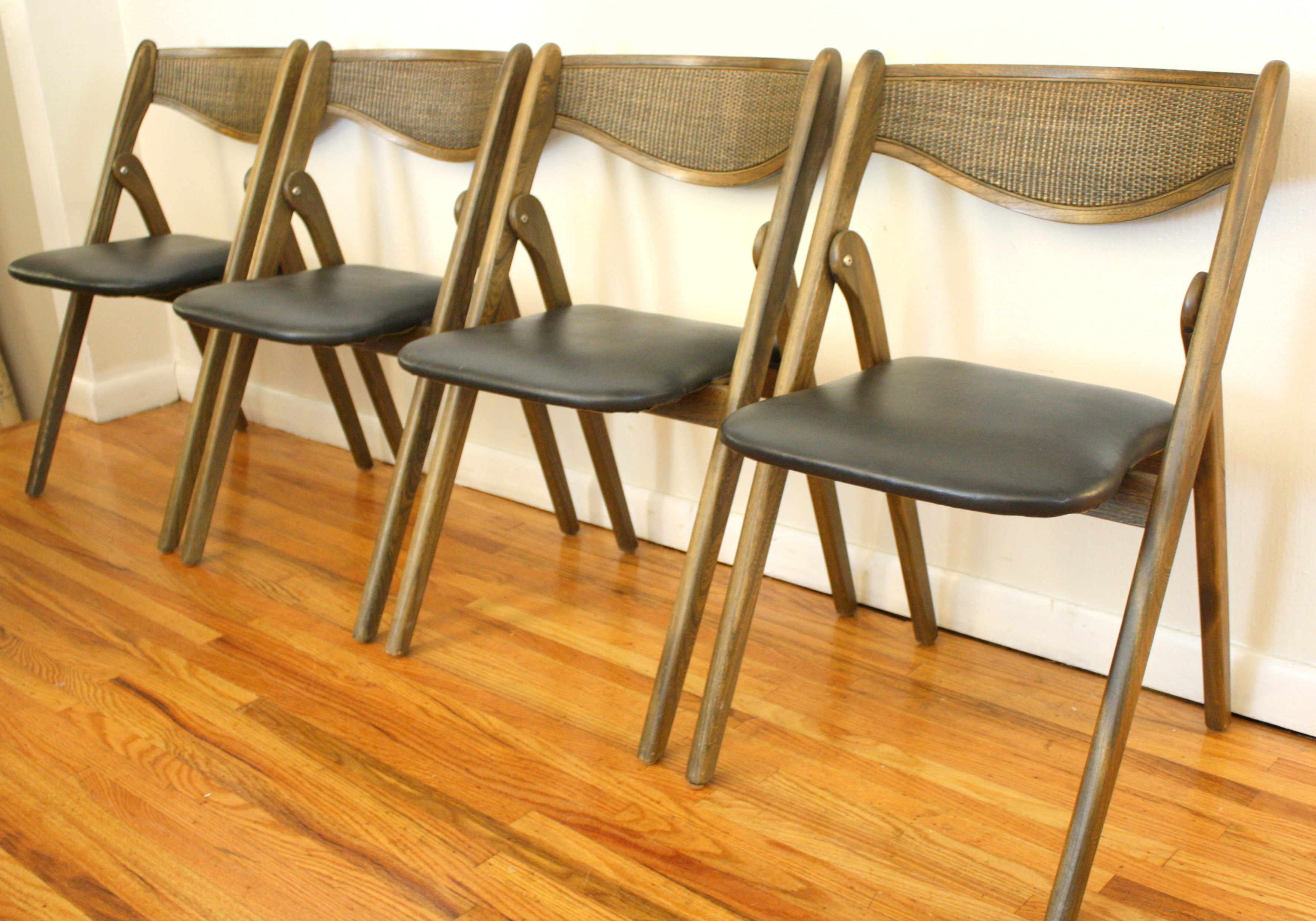 coronet folding chairs average chair cover rental price mid century modern by picked vintage