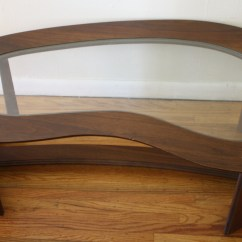 Bassett Furniture Chairs Wedding Chair Covers Resale Mid Century Modern Kidney Shaped Coffee Table | Picked Vintage
