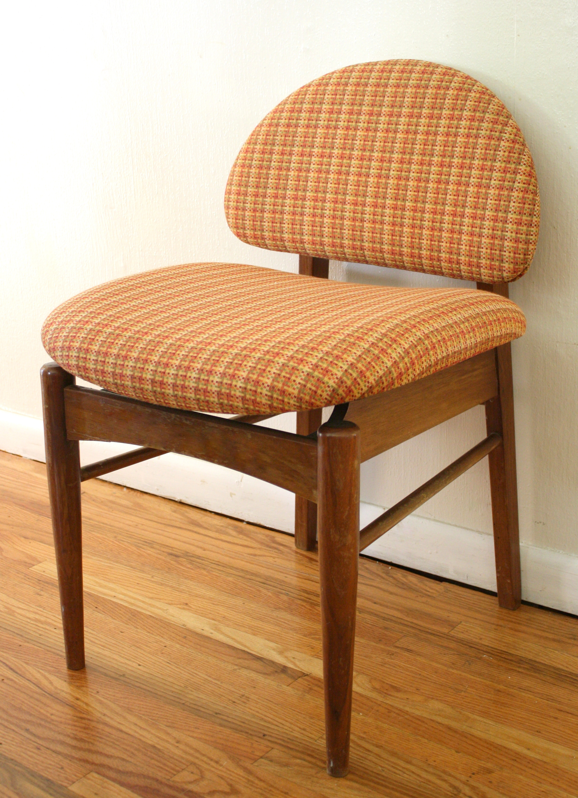 Mid Century Upholstered Chair Mid Century Modern Danish Style Upholstered Chair Picked