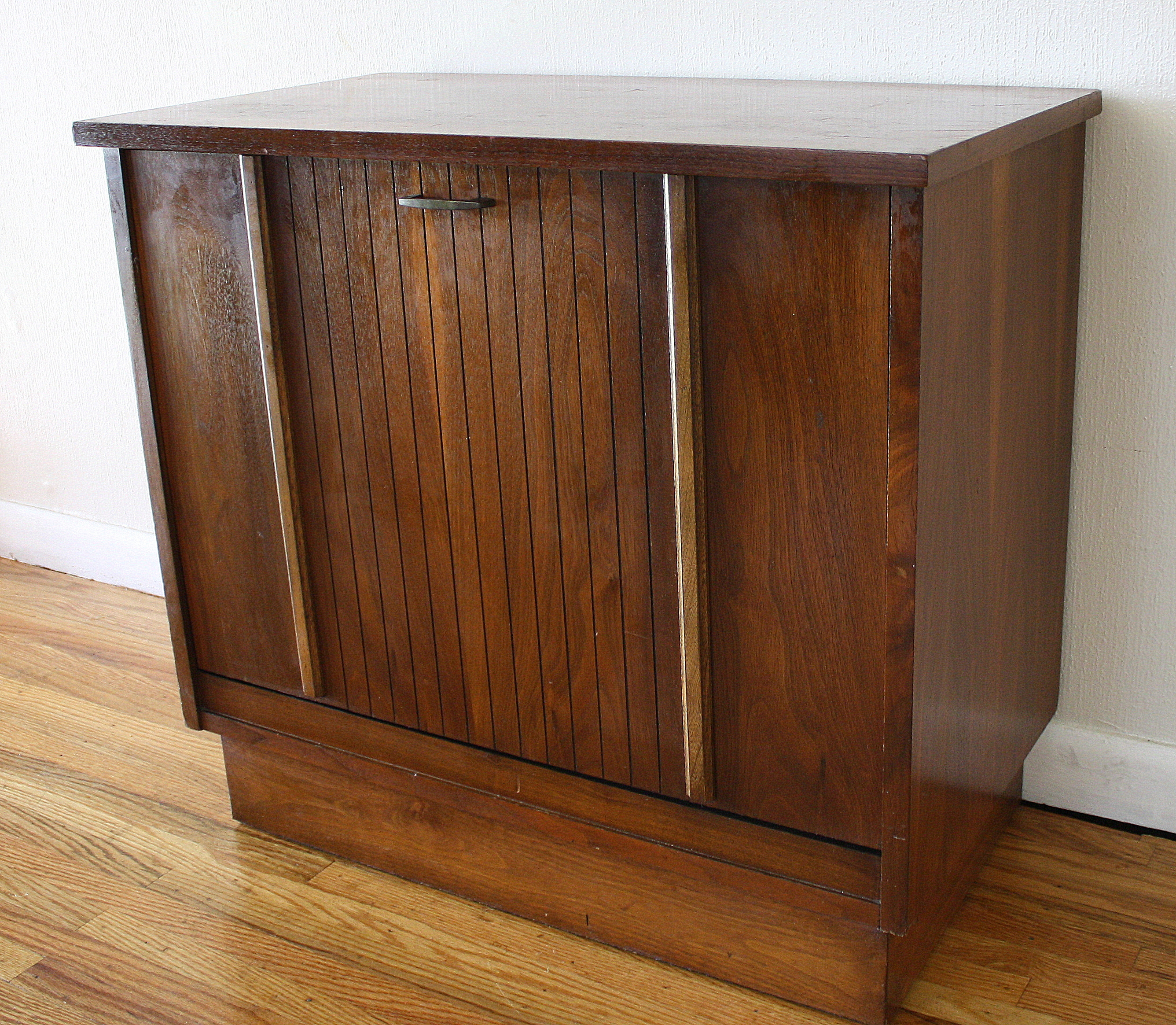 Mid Century Modern Record Cabinets by Lane  Picked Vintage