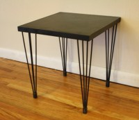 Mid Century Modern Hairpin Side Tables | Picked Vintage