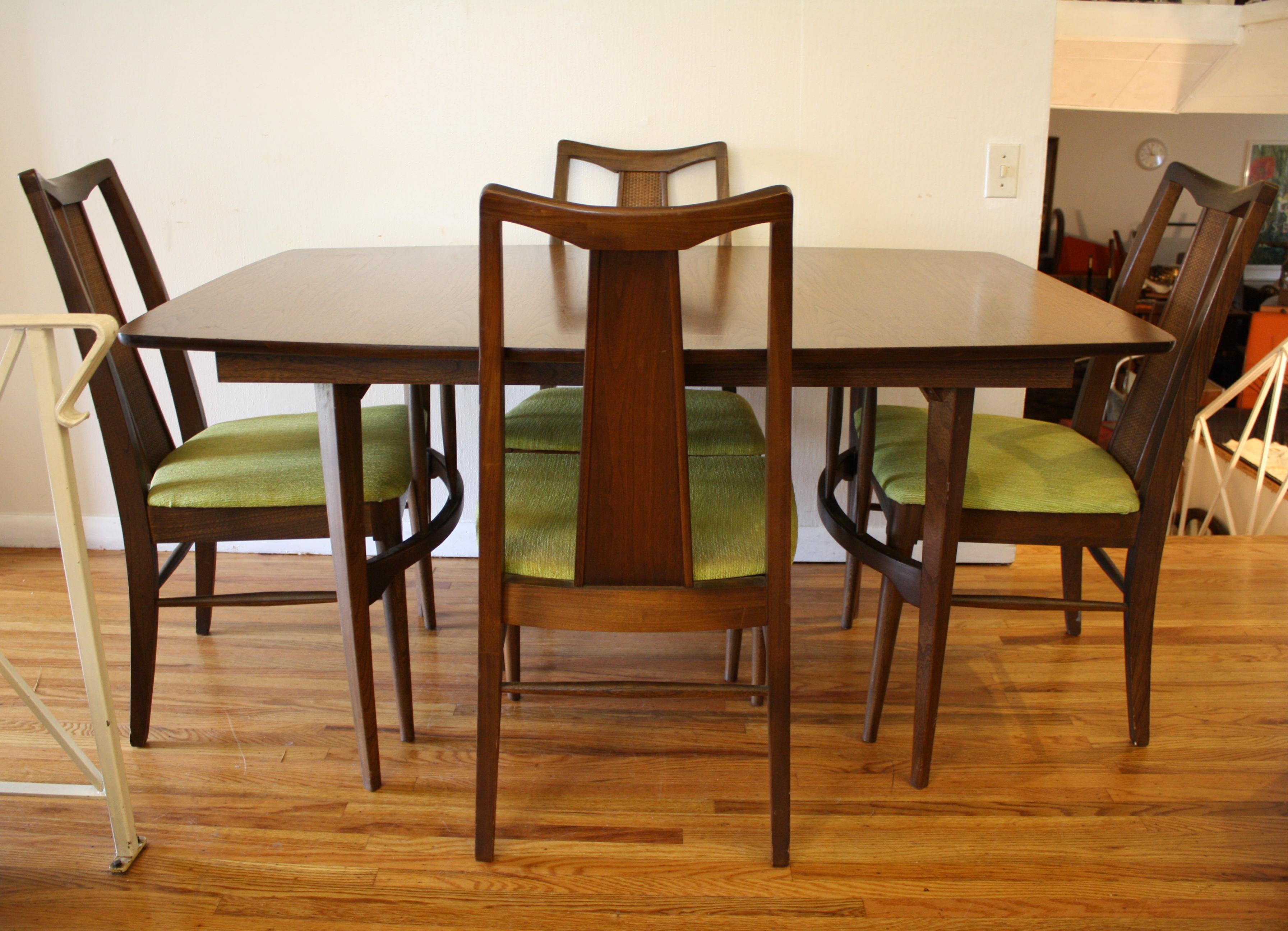 Mid Century Modern Dining Set Picked Vintage