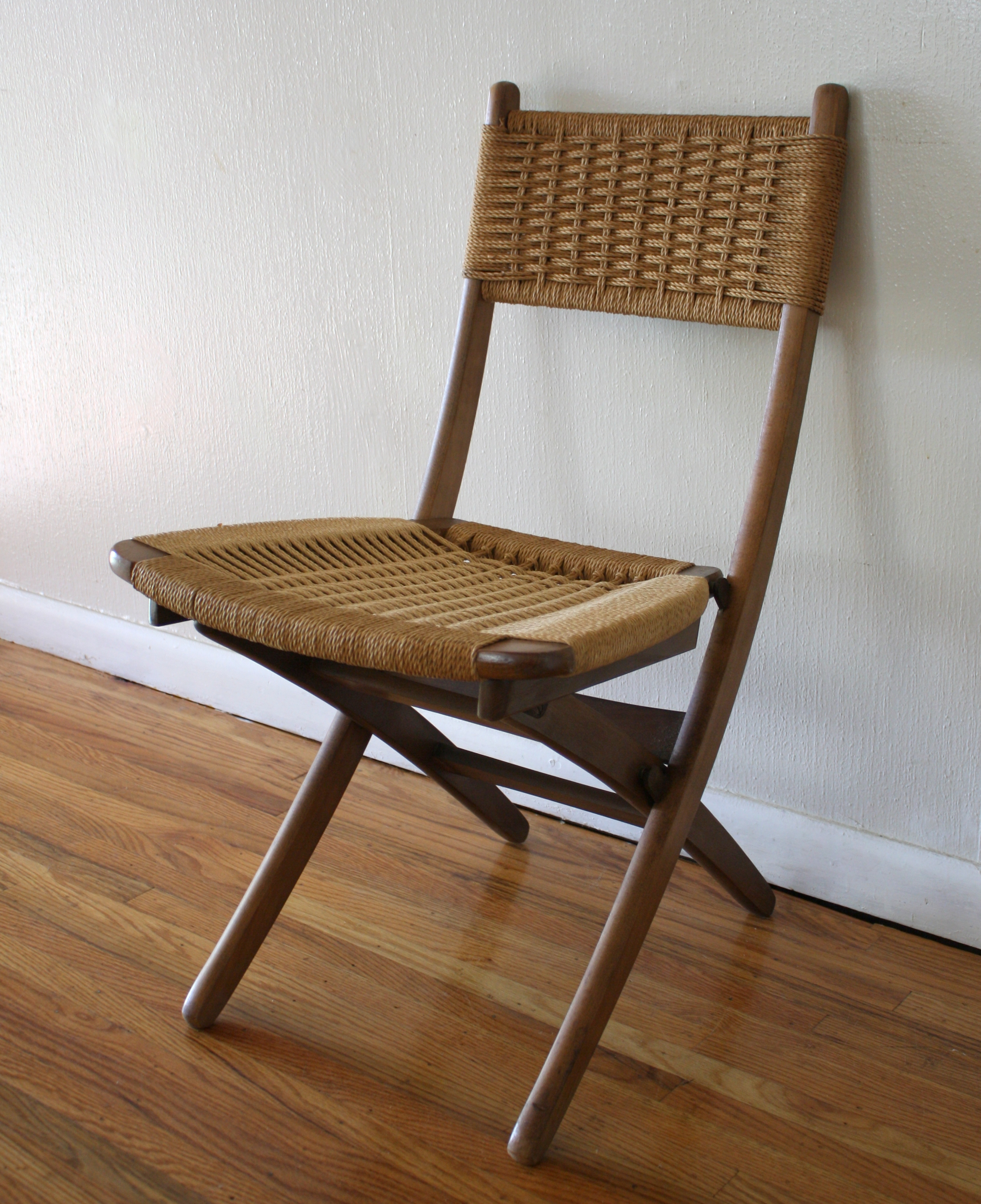 Mcm Chair Mcm Woven Chair 2 Picked Vintage