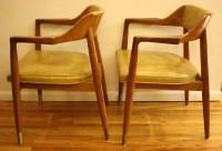 Mid Century Modern Gunlocke Chairs | Picked Vintage