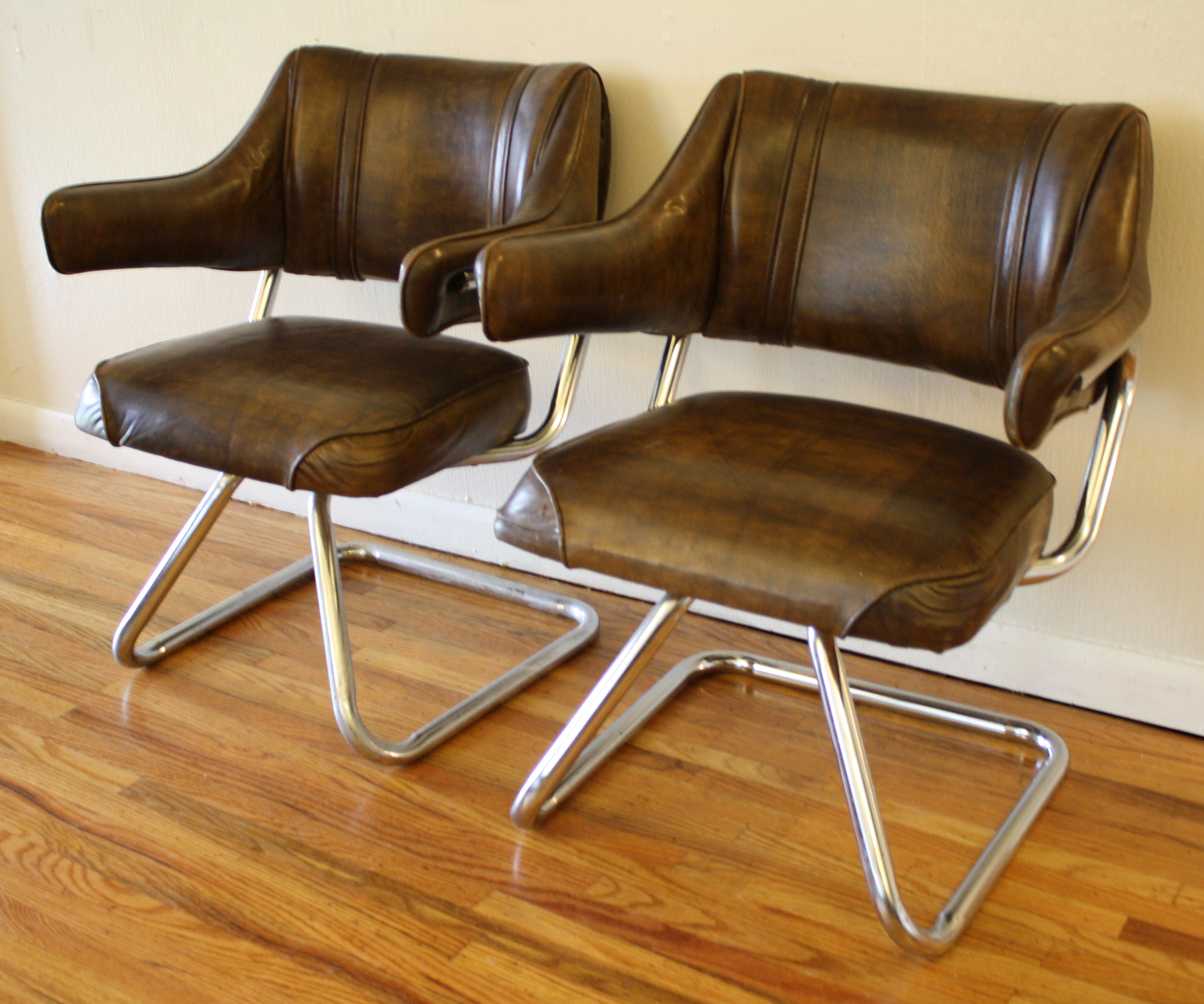 retro chrome chairs hanging chair olx 1 picked vintage