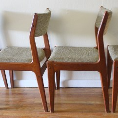 Danish Dining Chair Baby Bjorn Potty Set Of 4 Mid Century Modern Chairs Picked